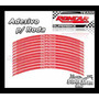 Adesivo De Roda Vermelho Daytona - Triumph