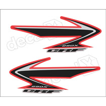 Kit Adesivos Crf 250x 2008 Resinado - Decalx