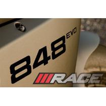 Par De Adesivo 848 Evo Para Carenagem Lateral Moto Ducati