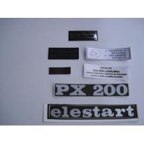 Peças Vespa ( Adesivos Originais Para Px 200)
