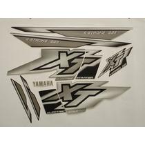 Adesivo Xt225 2000 Grafite, Faixa Original Completa