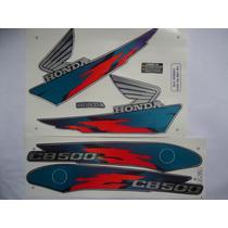 Adesivo Cb 500 98 Azul Roxa, Envio Grátis, Quali 3m