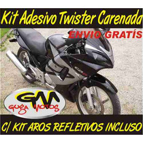 Kit Adesivo Completo P/ Honda Twister Moto Carenada
