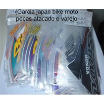 Jogo Adesivo Cbx 200 Strada 1994 A 2002