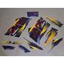 Kit Adesivos Honda Nx200 2000 Roxa - Decalx