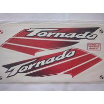 Kit Adesivos Xr 250 Tornado 2001 Branca ¿ Frete Grátis