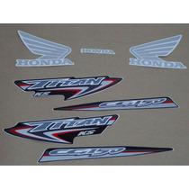 Kit Adesivos Honda Cg Titan 150 Ks 2007 Preta - Decalx
