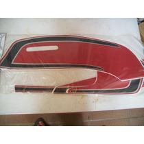 Cb 450 E Super Sport Preta Jogo De Faixas Adesivas Completo