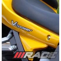 Adesivo V2power Para Moto Comet Gt Ou Gtr Kasinski Carenagem