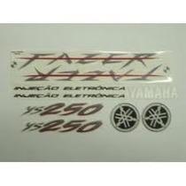 Jogo De Adesivo Fazer 250cc 2006-2009