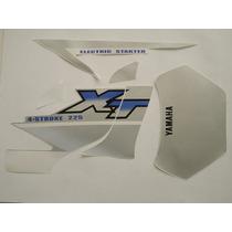 Adesivo Xt225 2002 Prata, Faixa Original Completa