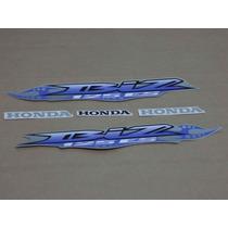 Kit Adesivos Honda Biz 125 Es 2007 Prata - Decalx