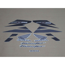 Kit Adesivos Honda Cbx Twister 250 2008 Cinza - Decalx