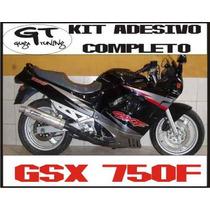 Adesivo Paralelo Completo P/ Moto Suzuki Gsx - 750f