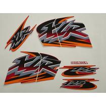 Adesivo Xlr125 2001 Ks Vermelha, Faixa Original Completa