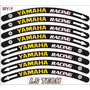 Yamaha Racing Friso Adesivo Aro Roda Moto Fzr R1 R6 Novidade