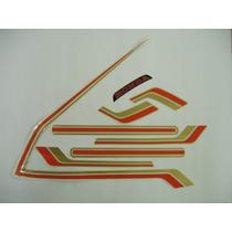 Adesivo Cb400 1982/83 Ii Café, Faixa Original Completa