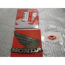 Jogo De Adesivos Do Tanque P/ Honda Cb600 Hornet 2013 Preta