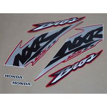 Kit Adesivos Honda Nxr 125 Es Bros 2003 Vermelha - Decalx
