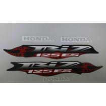 Kit Adesivos Honda Biz 125 Es 2007 Preta
