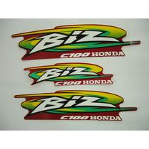 Adesivo Biz Ks 2000 Vermelha, Faixa Original Completa
