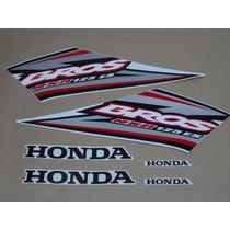 Kit Adesivos Honda Nxr125 Es Bros 2005 Branca - Decalx