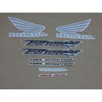 Kit Adesivos Honda Cg Titan 150 Ks 2009 Azul - Decalx