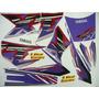 Adesivo Xt600 1997 Roxa/branca, Faixa Original Completa