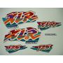 Adesivo Xlr125 1998 Azul, Faixa Original Completa