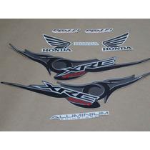 Kit Adesivos Honda Xre 300 2009 A 2010 Amarela - Decalx