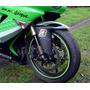 Adesivo Friso Curvo 7mm Refletivo Verde Roda Moto I.s Tech
