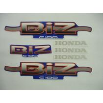 Faixa Biz Ks Verm / Verde/azul E Preto 2002