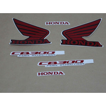 Kit Adesivos Honda Cb300r 2011 Preta - Decalx