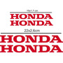 Kit Adesivo Honda Cbr 900 Rr Ninja Comet Titan Hornet