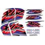 Kit Jogo Adesivo Honda Xlr125 Es 2001 Preta