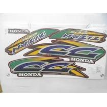 Jogo Adesivos Honda Cg 125 95 96 97 98 99 00