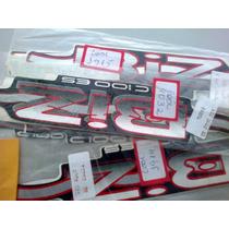 Kit Faixa Adesiva Biz 100 2002 Es/ks Pre Cores Frete 6 Reais