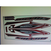 Jogo Kit Adesivos Honda Nx4 Falcon 2013
