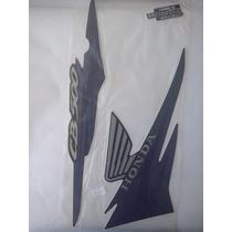 Kit Adesivos Cb500 2002 Azul - Frete Grátis