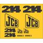 Kit Adesivos Jcb 214 - Decalx