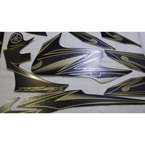 Adesivo Xtz 125 X 2012 Preta, Faixa Original Completa