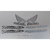 Kit Adesivos Honda Cbx 250 Twister 2004 Preta