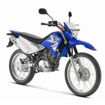 Kit Adesivos Yamaha Xtz 125 2012 2013 Azul