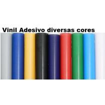 Vinil Adesivo 1m X 50 Cm P/ Decoração, Plotter, Aeromodelo..