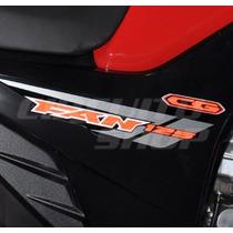 Adesivos Faixas Tuning Completo Moto Honda Fan 125 Ks 2014