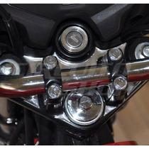 Protetor Mesa Relevo Moto Honda Fan 125 Ks A Partir 2014