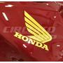 Adesivo Faixa Refletiva Asa Honda P/ Titan Fan 150 Ano 10-13