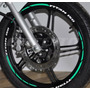 Friso Adesivo Refletivo Personalizado Mod09 Moto Honda Titan