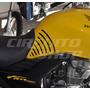 Protetor De Tanque Lateral Stripes Relevo Honda Fan Titan