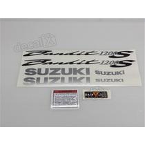 Kit Adesivos Suzuki Bandit 1200s 2005 Prata - Decalx